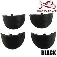 4 Piezas Negro Royal Enfield Bala indicador Visera De Sombra-Nuevo