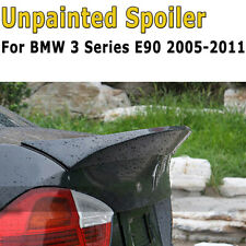 Unpainted ABS Rear Trunk Spoiler Wing For BMW E90 323i 325i 328i 335i 2005-2011