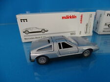 Marklin 1813 Set of 2 cars scale 1:43 Blank metal Mercedes Benz