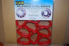 "Cab Fresh Millennium WHEEL INSERTS #KW245MR (1-Pack) ""RED"" (24.5"") (#S6474-F)"