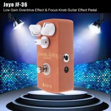 Sweet Baby Electric Guitar Effect Pedal with Low Gain Overdrive Focus Knob A0H8