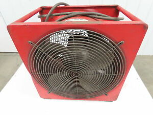"Super Vac P164SE Elect. 16"" Smoke Ejector Fan 1/3HP 115/230V For Haz. Location"