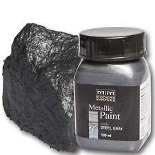 Stahlgrau Metallic Paint 100ml Modern Masters Metallfarbe Metalleffekt Acryl