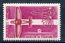 STAMP / TIMBRE FRANCE NEUF LUXE °° N° 1341 ** AVION / AVIATION DE TOURISME MNH