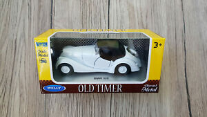 BMW 328   WELLY OLD TIMER   NEW  1:34