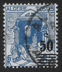 Algeria 1941-1942  Issues of 1938 Surcharged 50/60c (DX3)