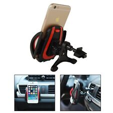 PASBUY Easy One Touch Car Mount Universal Air Vent Phone Holder Black