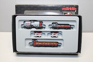 Märklin 86580 Mini Club Freight Car Set 40 Years Gauge Z Original Packaging