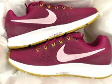 NIKE AIR ZOOM PEGASUS 34 UK 5.5 EU 39 TRAINERS GYM RUNNING BERRY 880560-607