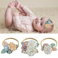 Baby Girl Headband Floral Elastic Hairband Delicate Hair Accessories Cute