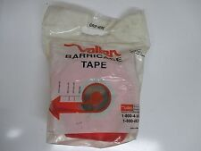 "BARRICADE TAPE 1000 FT X 3"" X 3 MIL PLAIN ORANGE VALLEN VBT300 (LL1951)"