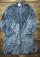 Vintage Lacy After Noon by Shell Kepler Women's Size 3X Green Beaded Jacket A1