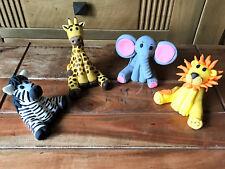 3D HANDMADE ZOO / JUNGLE  ANIMAL CAKE TOPPER/ birthday