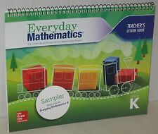 """Everyday Mathematics"" Teacher Edition Lesson Guide Sampler Kindergarten"
