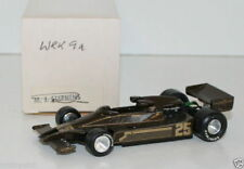 WESTERN MODELS SIGNED 1st VERSION - 1/43 SCALE - WRK9A - 1978 LOTUS 78 - REBAQUE