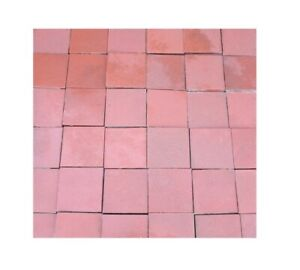 Reclaimed Terracotta Ruabon Quarry Floor Tiles - Quarries Flooring - Red