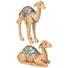 Jim Shore Heartwood Creek Set of Two Camels-Mini Nativity Figurine 4.25 IN New