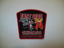 Chicago Fire Department Engine 74 Patch