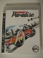 Burnout Paradise (Sony PlayStation 3, 2008) Excellent Condition!!!