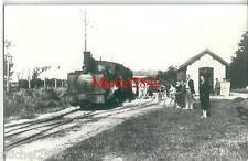 Photographie argentique Locomotive à vapeur train chemin de fer gare snapshot