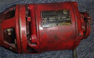 Bell & Gossett Alternating Current Circulator Pump Motor 1/12 hp Oil Burner