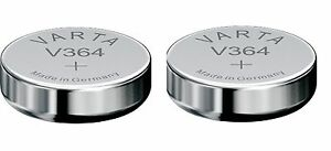 Sending sub-Type Tracking VARTA 2 Battery V364 Silver Oxide SR60 - 364 1.55V