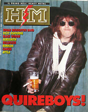 HM 89 1990 Quireboys Zakk Wylde Geezer Butler Bonham Bulldozer Cancer Broughton