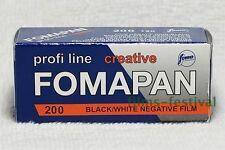 3 rolls FOMAPAN 200 120 Film Black and White
