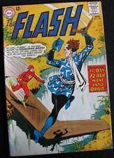 FLASH 148 (1964) CAPTAIN BOOMERANG! LOTS OF LARGE PHOTOS! FN-