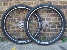 "26"" 27.5"" 650B 29"" 29er MTB Bike Disc/Rim Front Rear Wheel Set 6/7/8/9 Hub Speed"