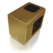 Raijintek Metis Plus Aluminium Mini-ITX Case ausgewählte Gold