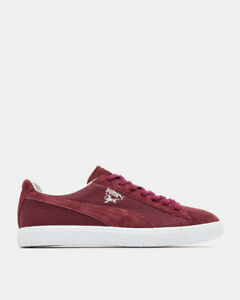 Puma Clyde MIJ Suede Made in Japan Mens Sneaker Shoes Winetasting Red RARE NEW 9