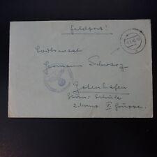 ALLEMAGNE LETTRE FELDPOST BRIEF 08.08.1942 -> GOTENHAFEN POLEN POLOGNE