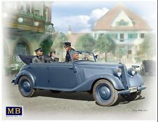 GERMAN MILITARY CAR TYPE 170V, TOURENWAGEN WITH CREW WW II 1/35 MASTER BOX 35113