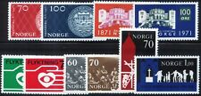 Norway - Scott# 568-577 - Mint VF-NH - 1971 - 5 Sets
