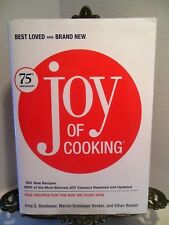 VG Joy of Cooking 75th Anniversary Edition Cookbook Irma Rombauer CLASSIC HBDJ