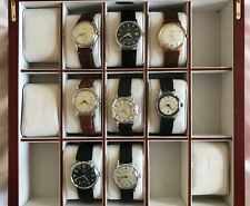 Vintage Watch Collection (7 items) incl. Tissot, Certina, Candino.  BARGAIN!