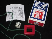 Nu-Die Mystery Magic Trick - Close Up, Dice Penetrates String, Street, Stolling