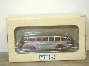 Mercedes LO3500 Bus Spielwaren Messe Express - Bub Bubmobile 1:87 in Box *42329