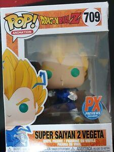 Funko POP! Dragon Ball Z n°709 Super Saiyan 2 Vegeta (PX Previews Exclusive)