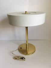 VTG Rare Walter Von Nessen Swing Arm Desk Table Lamp Metal Shade White Atomic 16