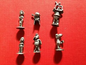 Monopoly Family Guy Pewter Individual Replacement Playing Pieces Tokens