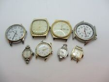 Vintage Lot of 8 Watches inclu. Timex Lorus Caravelle Selling As Is