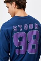 Melbourne Storm NRL 2021 Cotton On Long Sleeve Number Shirt Sizes S-2XL!