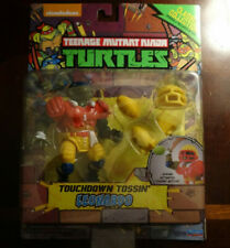 Teenage Mutant Ninja Turtles Classic Touchdown Tossin' Leonardo TMNT MOC