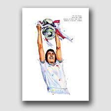 WEST HAM UNITED -  BILLY BONDS 1980 FA CUP FINAL - FRAMED MATCH PRINT
