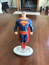 JLA Cover to Cover SUPERMAN Statue 1585 of 3000 Limited Ed. DC Direct Mahnke