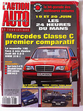 L'Action Automobile n°378; Les 24 heures du mans/ Mercedes Classe C/ Opel Corsa