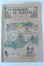 LA SEMAINE DE SUZETTE  5ème ANNEE  1909  -  N° 17