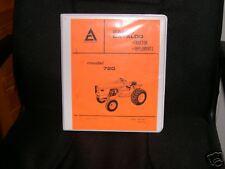 Allis Chalmers 720 Dealers Parts Catalog